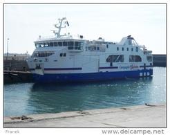 """BATph018 - Bateau à Passagers """"BANGOR"""" - Compagnie Océane - Ferries"""