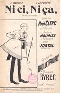 CAF CONC HUMOUR PAUL CLERC PARTITION NI CI NI ÇA BYREC BRIOLLET POUPAY ILL CANNE MAURISS PORTAL - Music & Instruments