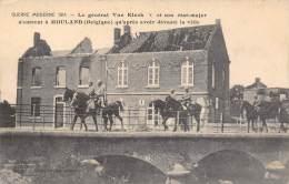Guerre Moderne 1914 - Le Général Von Klyck X Et Son état-major N'entrent à MOULAND Qu'après Avoir Dévasté La Ville - Voeren