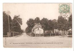 Environs De Corbeil - Essonne - Le Rond-Point De Chantemerle Et La Rue Feray 1907 - Corbeil Essonnes