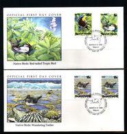 Marshall Islands 1990 Birds FDC - Climbing Birds