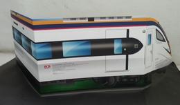 Malaysia Electric Train Service ETS 2018 Locomotive Railway Vehicle Transport (folder) *Limited - Malaysia (1964-...)