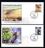 Marshall Islands 1990 Birds FDC - Songbirds & Tree Dwellers