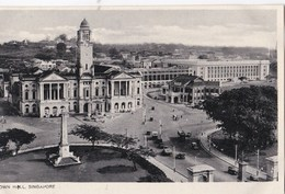 CPA   Singapore  (Malaya Malaisie)     Town Hall    Ed ??? - Malaysia