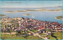 HVAR ( LESINA ) DALMACIJA  ( Croatia ) * Vintage Postcard , Travelled 1930's * Island Hvar - Croazia