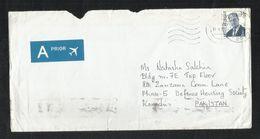 Belgium Air Mail Postal Used Cover Belgie To Pakistan - Belgien