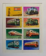 8 Stamps : North Korea - Blocks & Sheetlets
