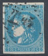 N°46 BORDEAUX NUANCE TIMBRE 1er CHOIX. - 1870 Bordeaux Printing