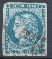N°45 BORDEAUX VARIETE. - 1870 Emission De Bordeaux