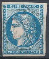 N°45 BORDEAUX NUANCE - 1870 Bordeaux Printing
