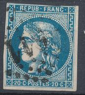 N°45  BORDEAUX NUANCE G.C. - 1870 Bordeaux Printing
