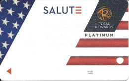 Harrah's Casinos USA - BLANK 2018 Veterans Slot Card - Casino Cards