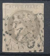 N°41  BORDEAUX GRANDS CHIFFRES - 1870 Bordeaux Printing