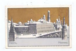 RU 101000 MOSKWA / MOSKAU / MOSKOW - Kreml, Goldglanz-Litho, 1899 - Rusia