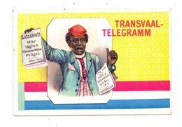 SOUTH AFRICA - BOER WAR / Burenkrieg, OHM KRÜGER, Transvaal - Telegramm, Ca. 1905 - Südafrika