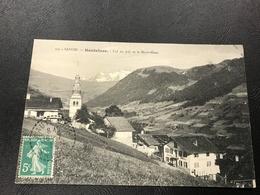 107 - HAUTELUCE CWol Du Joly Et Le Mont Blanc - 1911 Timbrée - Autres Communes