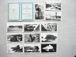 12 Vues Mes Souvenirs De BELLE ILE EN MER ( Pochette Souvenir Avec 12 Photos 6 X 11 Cm ) édit. MESNY à Rennes - Belle Ile En Mer