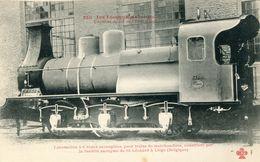 Les Locomotives 250 Belgique Locomotive Pour Trains De Marchandises Chemins De Fer De L'etat Belge - Trains