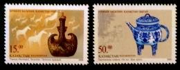 ARTISANAT TRADITIONNEL 2000 - NEUFS ** - YT 246/47 - MI 286/87 - Kazakhstan