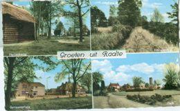 Raalte; Groeten Uit Raalte, Vier-luik - Niet Gelopen. (Veldhuis - Raalte) - Netherlands