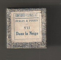 1 Film Fixe  PERLIN ET PINPIN   Dans La Neige  (ETAT TTB ) - 35mm -16mm - 9,5+8+S8mm Film Rolls