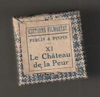 1 Film Fixe  PERLIN ET PINPIN  Le Chateau De La Peur   (ETAT TTB ) - 35mm -16mm - 9,5+8+S8mm Film Rolls