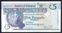 Northern Ireland - 5 Pounds 2013 Bank Of Ireland - P86 - [ 2] Ireland-Northern