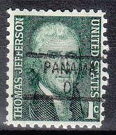 USA Precancel Vorausentwertung Preo, Locals Oklahoma, Panama 841 - Vereinigte Staaten