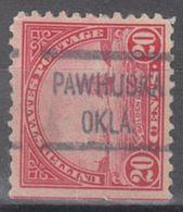 USA Precancel Vorausentwertung Preo, Locals Oklahoma, Pawhuska 567-513 - Vereinigte Staaten