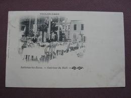 CPA 83 TOULON LA SEYNE SUR MER  SABLETTES LES BAINS Restaurant Intérieur Du Hall 1904 ANIMEE - Toulon