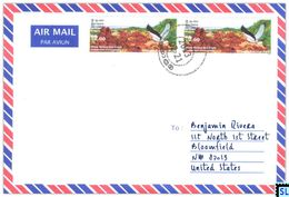Sri Lanka Stamps, Eagle, Birds, Personalized Cover - Sri Lanka (Ceylon) (1948-...)