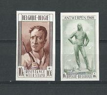 Belgique: 785/ 786 ** ND ( Monuments) - Belgique