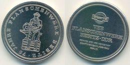 DDR Medaille, Bernburg - Bebitz VEB Flanschenwerk 75 Jahre, Amboss Schmied - Other