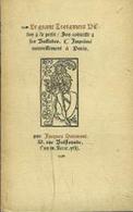 Le Grant Testament - François VILLON  & Le Petit - Son Codicille & Ses Ballades - 1942 - Jacques Haumont - Poetry