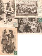 LOT 4 CPA - Anciens Costumes Bressans - Types Bressans - Noce Bressane - Ménétrier Bressan - La Garenne Colombes