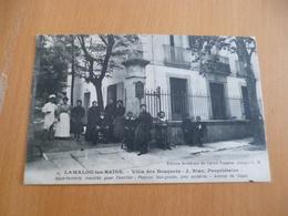 CPA 34 Hérault Lamalou Les Bains Villa Des Bosquets J.Riac BE - Lamalou Les Bains