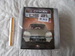 Altaya Citroën DS 21 Montez Pas à Pas La Déesse Des Voitures Francaises Numéro 68 - Model Making