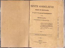 Boek Sint Godelieve Martelares Van Vlaanderen - Onderpastoor Hector Claeys Nieuwpoort - Tielt 1891 - History