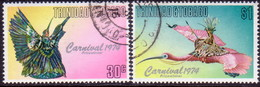 TRINIDAD & TOBAGO 1976 SG #465-66 Compl.set Used Carnival - Trinidad & Tobago (1962-...)