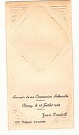 IMAGE PIEUSE ANNONCANT LA COMMUNION DE JEAN COUETIL Le 13 Juillet 1924 à Chavoy 50 - Communion