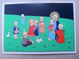 Mooie  Illustratie Van James Pennyles Of John Permeke  Rond 1940 - Religion & Esotérisme