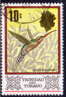 TRINIDAD & TOBAGO 1976 SG #473 10c Used Wmk Mult. Crown CA Diagonal - Trinidad & Tobago (1962-...)