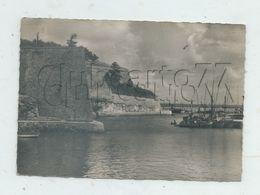 Belle-Isle-en-Mer (56) :  Le Coin Du Port Près De La Citadelle De Le Palais En 1956 (animé) GF. - Belle Ile En Mer