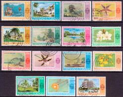 TRINIDAD & TOBAGO 1976 SG #479-95 Compl.set Used - Trinidad & Tobago (1962-...)