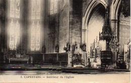 34 CAPESTANG  Intérieur De L'Eglise - Capestang