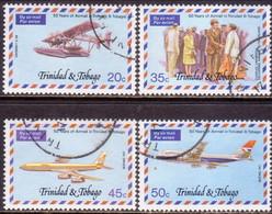 TRINIDAD & TOBAGO 1977 SG #503-06 Compl.set Used Airmail Service - Trinidad & Tobago (1962-...)