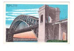 USA NY Hellgate Bridge New York City Pont Traversant East River Reliant Le Queens à Randall's Island - Ponts & Tunnels