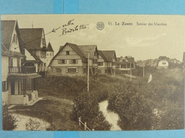 Le Zoute Sentier Des Irlandais - Knokke