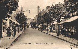 CABOURG L'AVENUE DE LA MER - Cabourg
