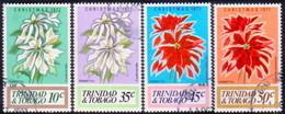 TRINIDAD & TOBAGO 1977 SG #512-15 Compl.set Used Christmas - Trinidad & Tobago (1962-...)
